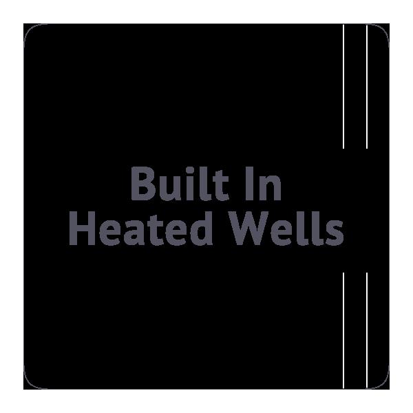 Built In Heated Wells