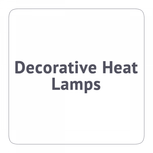 Decorative Heat Lamps