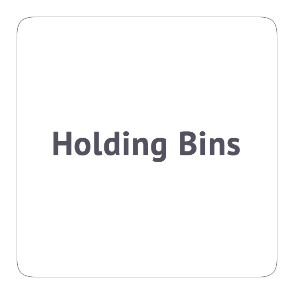 Holding Bins
