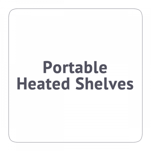 Portable Heated Shelves