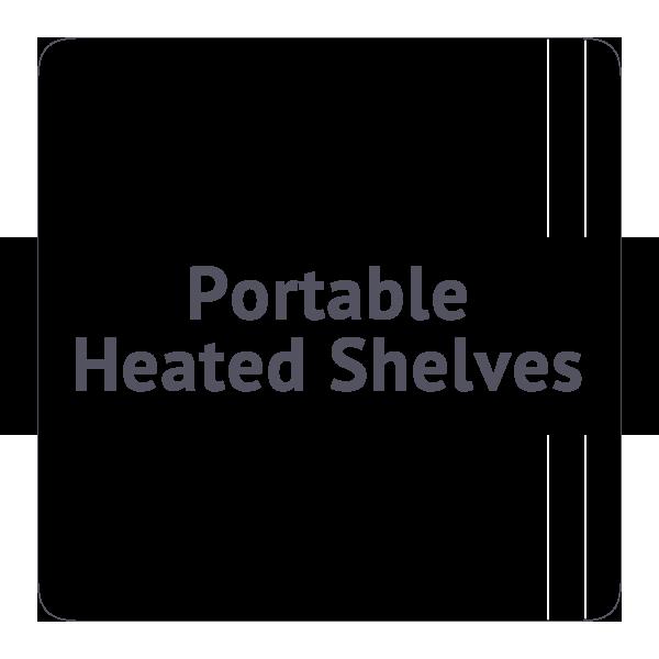 Portable Heated Shelves