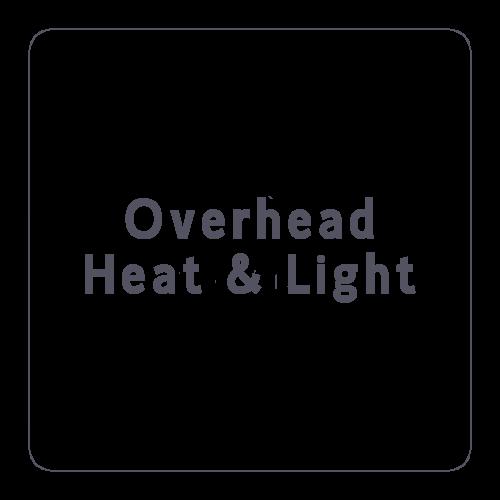 Overhead Heat & Light